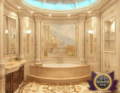 Bathroom Design in Dubai, Luxury bathroom, Photo 2