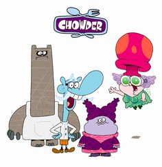 Chowder and Friends Cartoon Network Shows, Cartoon Shows, Cartoon Pics, Cartoon Drawings, Cartoon Characters, Rocket Power, Childhood Tv Shows, Childhood Memories, Cartoon Wallpaper