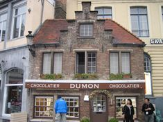 Dumon    the best little chocolate shop in Brugge