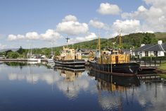 Harbour At Caledonian Canal, Inverness