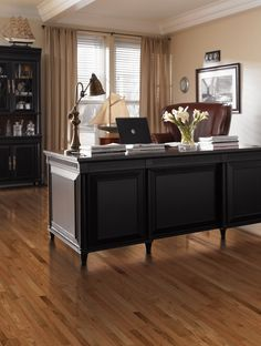 Do you have hardwood flooring in your home office? Flooring by Mohawk.