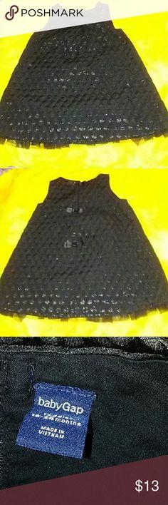 Dress Baby Gap black pokadot dress baby Gap Dresses