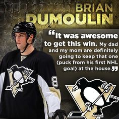 What a night for Brian Dumoulin and Bryan Rust!