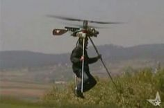 We all know that minimalism is big thing these days, but flying around in a tiny helicopter like this might just be a little more than the minimalist in some of Ultralight Helicopter, Personal Helicopter, Ill Fly Away, Flying Vehicles, Flying Car, Bobber Motorcycle, New Inventions, Small Engine, Custom Motorcycles