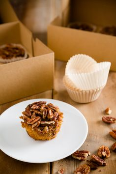 Sticky, Gooey, Nutty Pecan Pie Cupcakes - from Cupcake Project