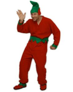 How to make an adult elf costume for Halloween or Christmas