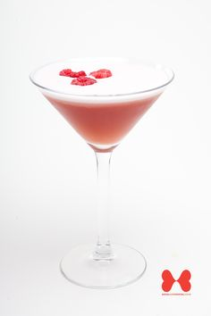 The French Martini - a delicious combination of Vodka, Chambord  Pineapple Juice. Always a hit at any Birthday Party and can be added to your Cocktail Package at www.socialandcocktail.co.uk