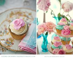 Pink & Turquoise Tea Party {Decor Inspiration}  click on link for more photos