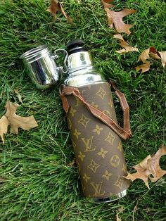 ....a vintage Louis Vuitton thermos......