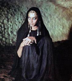 androphilia:    Donyale Luna In Satyricon By Federico Fellini, 1969