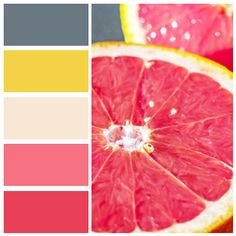 Created at Color Name Detector for iOS 6A7981 - Sheffield Grey F3D246 - Naples yellow F8E7D5 - Summer Lady F67282 - Roseberry Rose E94058 - Desire