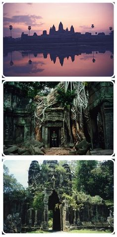 """Angkor Wat, Cambodia. Always an awesome scene in the """"Where in the World is Carmen Sandiego"""" computer game."""
