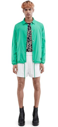 b3613546 ACNE STUDIOS Tony Face. #acnestudios #cloth # Mens Spring Jackets,  Windbreaker Jacket