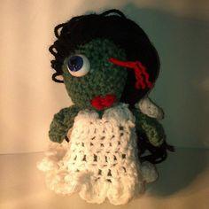 I'm a Zombie, Zombie Zombie for your love. $11.25, via Etsy.