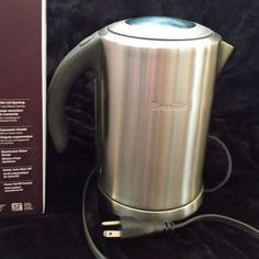 Breville SK500XL Ikon Cordless 1.7-Liter Stainless-Steel Electric Kettle…