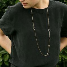 Circles Layering Necklace