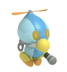 Omochao (Sonic Free Riders) Sonic Free Riders, Sonic The Hedgehog, Friends, Silver, Amigos, Boyfriends, Money