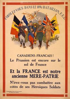 Examples of Propaganda from WW1 | Canadian WW1 Propaganda Posters Page 20