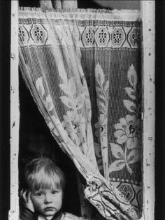 Shirley Baker, Little Boy Stares Out of a Window,1962