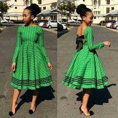 sotho shweshwe dresses for African women - fashion African Inspired Fashion, Latest African Fashion Dresses, African Print Dresses, African Print Fashion, Africa Fashion, African Prints, South African Dresses, Ankara Fashion, African Fabric