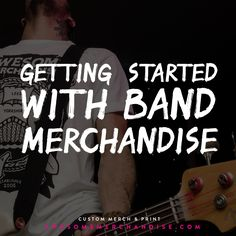 Handy tips for anyone who's in a band... check it out and re-pin if you think it's useful! http://awsmr.ch/BandMerchGuide #bands #bandmerch