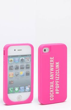 kate spade new york 'cocktail anywhere' iPhone 4 & 4S case   Nordstrom  need for iphone5!!
