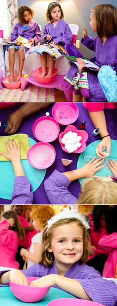Sassy Princess Spa | At home manicure party for four children (D.C.) | Photos: Laura-Chase McGehee for DailyCandy