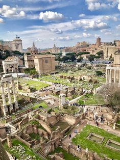 The Roman Forum. Rome Italy - Element-Link - #nature #travel #landscape