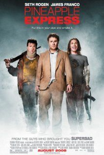 Pineapple Express (2008) Seth Rogen, James Franco and Gary Cole. A process server and his marijuana dealer wind up on the run from hitmen and a corrupt police officer after he witness his dealer's boss murder a competitor while trying to serve papers on him.