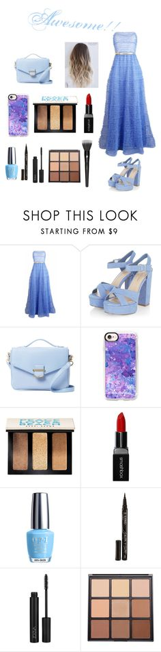 """""""Amazing look!"""" by rumaisa-hadia ❤ liked on Polyvore featuring Plakinger, Cynthia Rowley, Casetify, Bobbi Brown Cosmetics, Smashbox, OPI, Smith & Cult, Morphe, Lancôme and Full"""