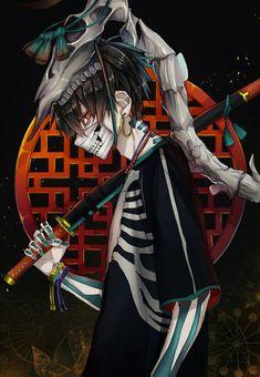 Dark Anime Guys, Cool Anime Guys, Cute Anime Boy, Arte Emo, Arte Do Hip Hop, Samurai Wallpaper, Badass Drawings, Dibujos Anime Chibi, Yandere Anime