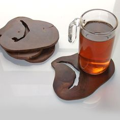 Supermarket: pui coasters from l-caza :: accessories by luis caicedo-zapata