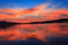 puerto,mahon,anochecer,Menorca