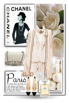 """Paris in the Fall"" by dezaval ❤ liked on Polyvore featuring Assouline Publishing, Chanel and fallgetaway"
