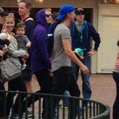 tom felton and rupert grint   Disneyland Feb. 2013