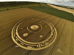 E.T in Dorset, UK? Could crop circles, hold the secret messages from the Aliens?