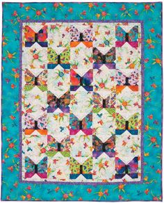 FLYING COLORS QUILT KIT