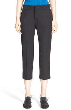 LANVIN Crop Wool Tux Pants. #lanvin #cloth #pant
