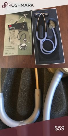 Littman Classic II S.E. Stethoscope in Ceil Blue Used for about a year, before I decided to upgrade to the Classic III. Still a lot of life left! Save yourself some  and buy your stethoscope pre-loved  Perfect for nursing students! There is one small black mark (possibly a pen mark) - see photos please. Littman Other