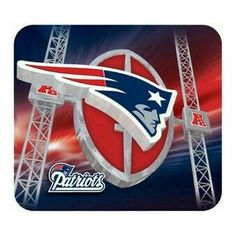 NEW England Patriots Football Field Computer Mousepad Mouse Pad New England Patriots Football, Patriots Fans, Football Team Logos, Football Field, Go Pats, Superbowl Champions, Boston Sports, New York Jets, National Football League
