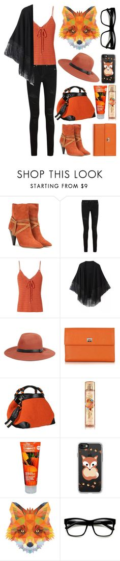 """""""Spirit Animals (Fox)"""" by ubiquitous-merkaba ❤ liked on Polyvore featuring Isabel Marant, Yves Saint Laurent, Exclusive for Intermix, Relaxfeel, rag & bone, Pineider, Caroline De Marchi, Casetify, ZeroUV and sososspirits"""
