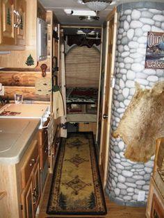 23 Rvs That Look Like Log Cabins Camper Interior Design