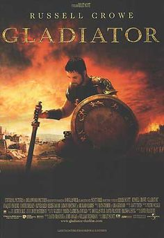 """Gladiator Movie Poster 8/""""x10/"""" Russell Crowe"""