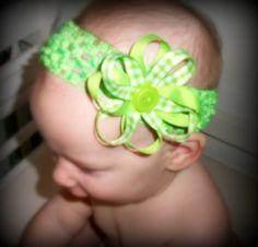 Ribbon hair bows