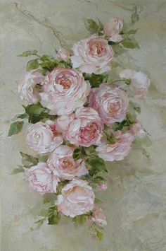 Dear Joyce, A beautiful Rose Painting for a beautiful Lady. I hope you can find a nice spot to hang it.
