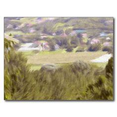 aquarell, landscape