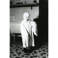 Child in ghost outfit, ca.1940s