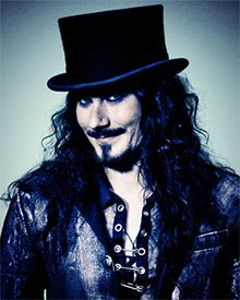 Tuomas of Nightwish; Hubby loves their music..so I thought I'd share with you. Not really my cup of tea though. Ingenious music I admit, just not for me.