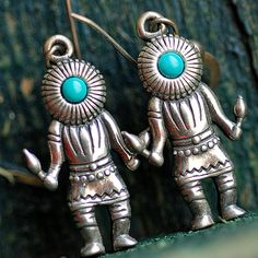 earrings from an estate sale... sterlings silver... by CoolVintage