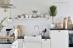 Our Home - Our lifestyle. Not too modern, Not too romantic, not too rustic - But Simple, warm and cozy. Warm And Cozy, Kitchen Cabinets, Rustic, Lifestyle, Modern, Table, House, Furniture, Home Decor